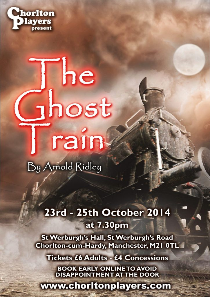 The Ghost Train poster